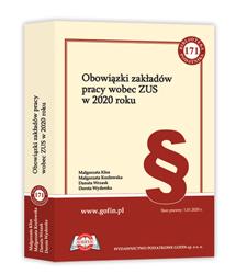 Książka Obowiązki zakładów pracy wobec ZUS w 2020 roku