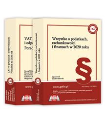 2 książki z cyklu Biblioteka Podatnika 2020