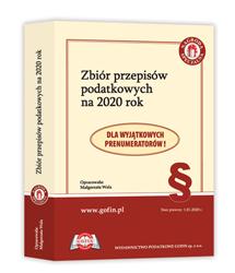 Zbiór przepisów podatkowych na 2020