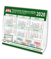 Kalendarz biurkowy na 2020 rok