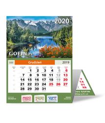 Kalendarz ścienny (trójdzielny) na 2020 rok