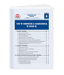 VAT w obrocie z zagranicą w 2020 r.