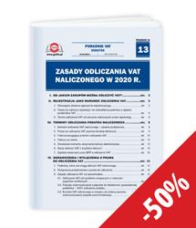 Zasady odliczania VAT naliczonego w 2020 r.