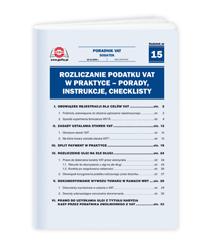 Rozliczanie podatku VAT w praktyce - porady, instrukcje, checklisty