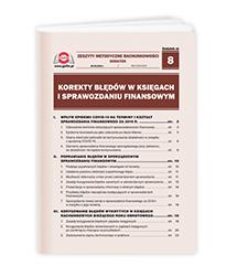 Korekty błędów w księgach i sprawozdaniu finansowym