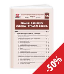 Bilans i rachunek zysków i strat za 2020 r.