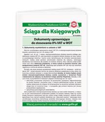 Zmiany w VAT w 2020 r. - pomocnik
