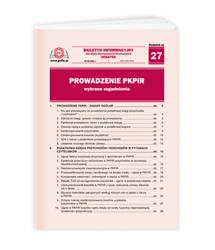 Prowadzenie PKPiR - wybrane zagadnienia