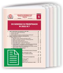 Dodatki do Czasopism 2021 w formie papierowej