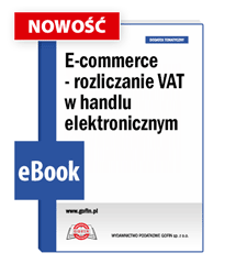 E-commerce - rozliczanie VAT w handlu elektronicznym
