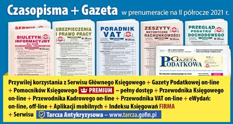 Wszystkie Czasopisma i Gazeta w prenumeracie na II półrocze 2021 rok - Komplet promocyjny nr 1