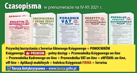Wszystkie Czasopisma i Gazeta w prenumeracie na IV-XII 2021 rok - Komplet promocyjny nr 2