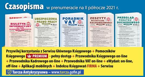 Wszystkie Czasopisma i Gazeta w prenumeracie na  II półrocze 2021 r. - Komplet promocyjny nr 2