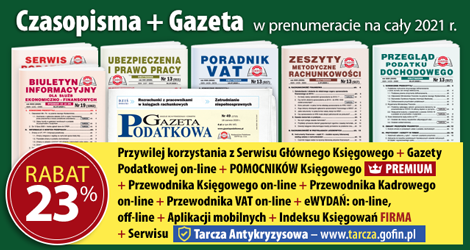 Wszystkie Czasopisma i Gazeta w prenumeracie na cały 2021 rok - Komplet promocyjny nr 1