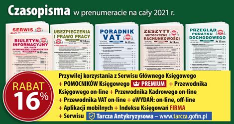 Wszystkie Czasopisma w prenumeracie na cały 2021 rok - Komplet promocyjny nr 2