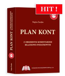 Książka Plan kont z obszernym komentarzem bilansowo-podatkowym