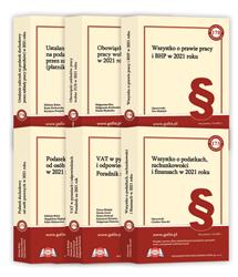 Publikacje książkowe - Biblioteka Podatnika - edycja 2020