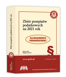 Zbiór przepisów podatkowych na 2021