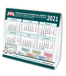 Kalendarz biurkowy na 2021 rok
