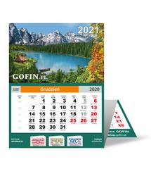 Kalendarz ścienny (trójdzielny) na 2021 rok