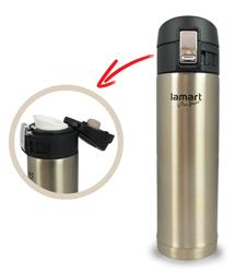 Kubek termiczny firmy LAMART