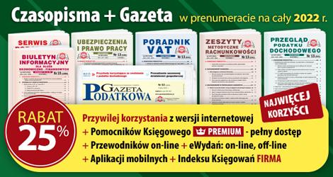 Wszystkie Czasopisma i Gazeta w prenumeracie na cały 2022 rok - Komplet promocyjny nr 1