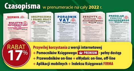Wszystkie Czasopisma w prenumeracie na cały 2022 rok - Komplet promocyjny nr 2