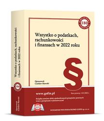 Jedna książka z cyklu Biblioteka Podatnika 2022