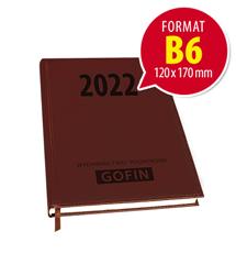 Kalendarz książkowy na 2022 rok – kieszonkowy